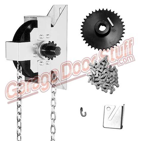 Overhead Door Chain Hoist Garage Door Chain Hoist Wageuzi