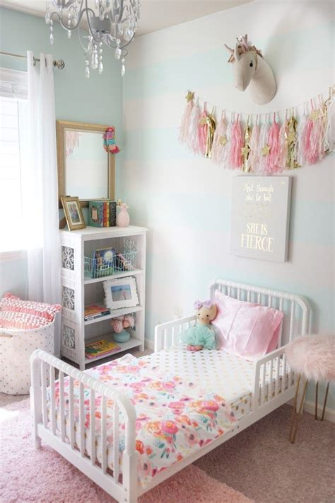 Unicorn Bedroom Decorating Ideas by Toddler Room Refresh Room Decor Toddler