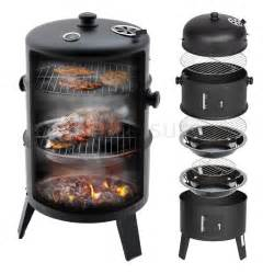 upright outdoor bbq smoker charcoal barbecue grill garden
