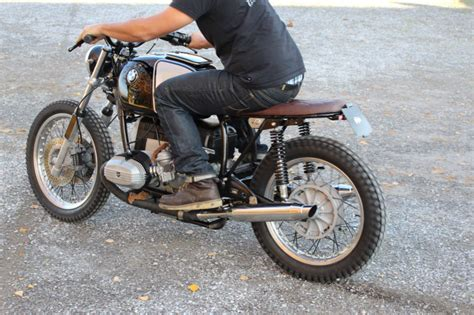 Auspuffanlage Motorrad Bmw R 80 by Bmw R80 Custom Umbau Moto Incendio Custom Motorcycles
