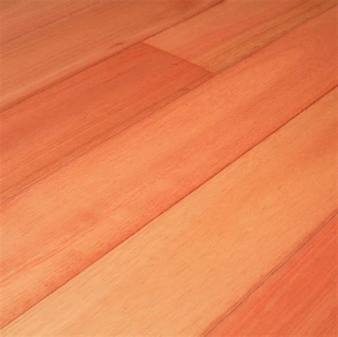 "Eucalyptus 3/4"" x 3"" x 1 7' Clear   Unfinished Flooring"