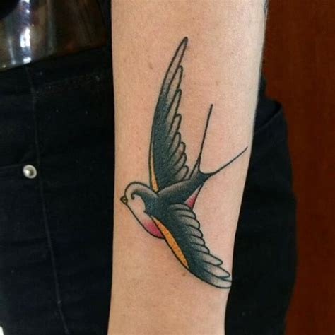 swallow tattoo meaning jail 80 best swallow bird tattoo meaning and designs fly in