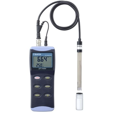 Ph Meter Digital Sk 650ph sksato handy type digital ph meter sk 620phii with