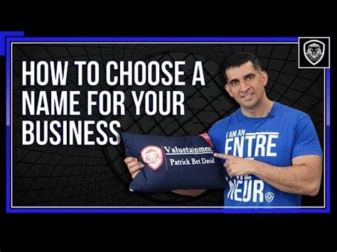 how to pick a name for your business how to choose a name for your business travis mahlum