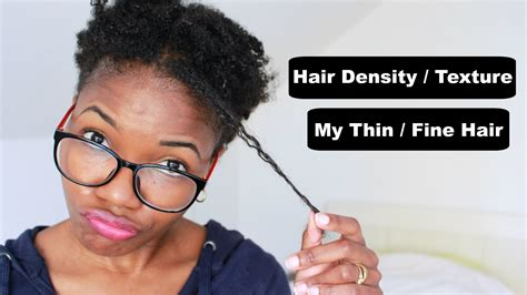 my hair is thinning on the sides afro american natural hair type density texture thin fine youtube