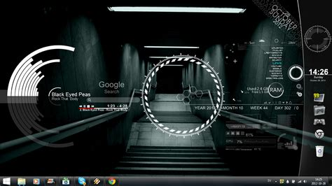 free rainmeter themes download for windows 7 underground windows7 rainmeter theme
