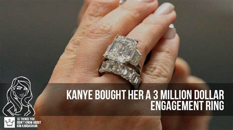 kim kardashian engagement ring cost kanye west 15 things you didn t know about kim kardashian alux