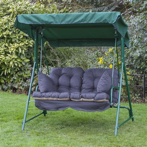 replacement garden swing cushions garden 2 seater replacement swing seat hammock cushion set
