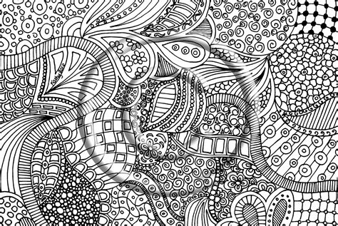 zentangle free colouring pages