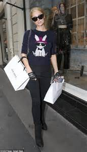 Hiltons Shopping Spree by Continues Shopping Spree After A Weekend Of