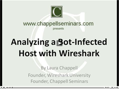 wireshark tutorial laura chappell analyze a bot infected host with wireshark karl s place