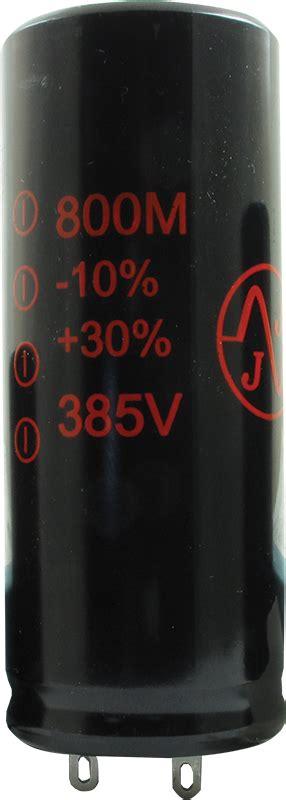 jj capacitors capacitor jj electronics 385v 800 181 f electrolytic antique electronic supply