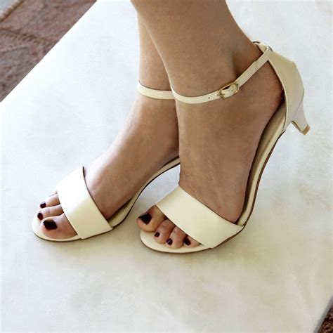 ivory low heel wedding shoes low heel bridal shoes