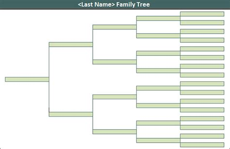 search results for blank family tree template editable