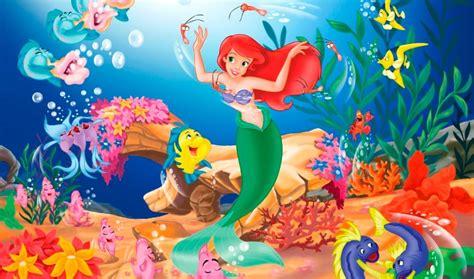 little mermaid disney cartoon fishes hd wallpaper la sirenita cuento disney 174 chiquipedia