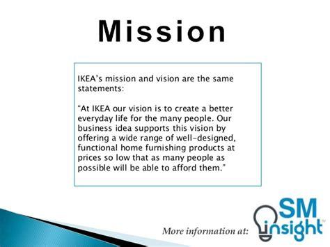Ikea Furniture Online Ikea Mission Statement