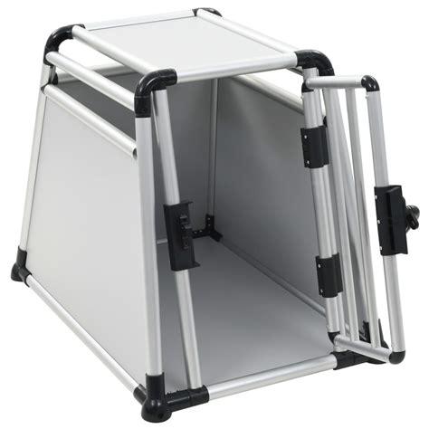 gabbia trasporto cani vidaxl gabbia per trasporto cani in alluminio m vidaxl it