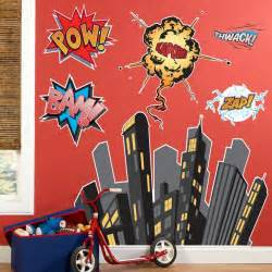 superhero wall stickers superhero wall decals 2017 grasscloth wallpaper