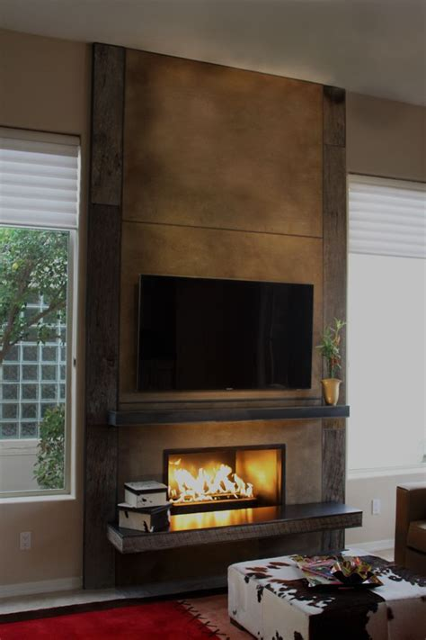 fireplace ideas modern best 25 contemporary fireplace mantels ideas on pinterest