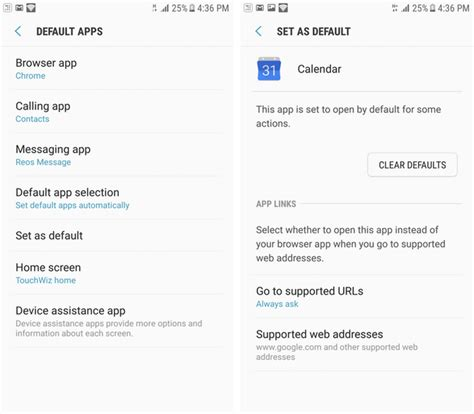 set default app android how to master default apps and linking on android