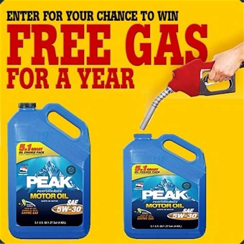 Enter Free Events Monthly Giveaway by Enter To Win Free Gas For A Year Sweepstakesbible