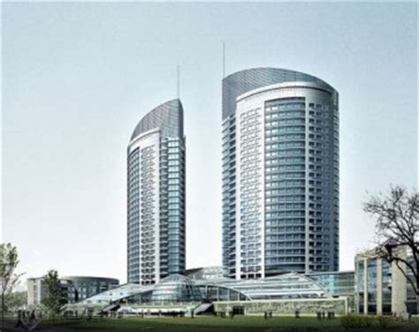 Modern High rise Building Exterior 3dsmax Scene (3ds,Max