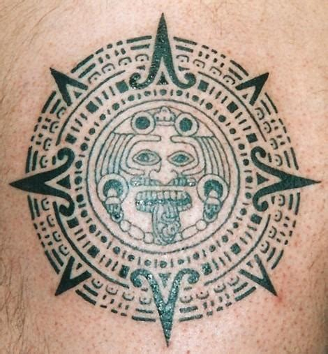 aztec sun tattoo design aztec sun designs