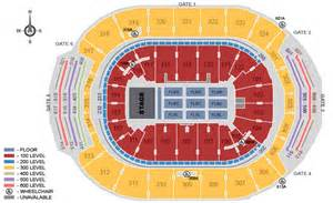 seating map air canada centre air canada centre toronto on seating chart view