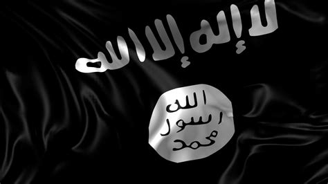 flag of isis 3d animation of the islamic state of iraq