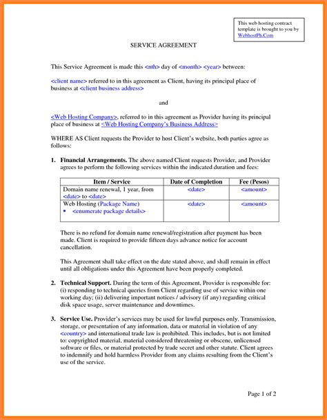 it services agreement contract template 8 it services agreement contract template purchase