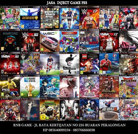 Jasa Isi Ps2 Dan Ps3 jasa isi ps3 ofw inject ps3 di pekalongan