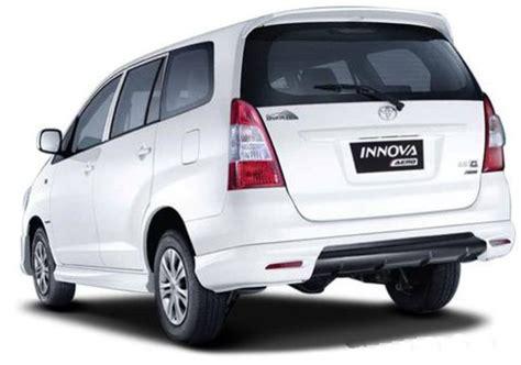 Spoiler Inova Model Standar 2015 toyota innova release date