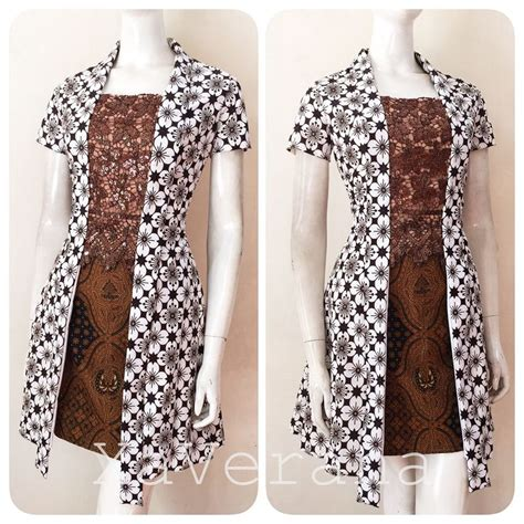 Dress D401 By Xaverana Boutique the 25 best modern batik dress ideas on rok