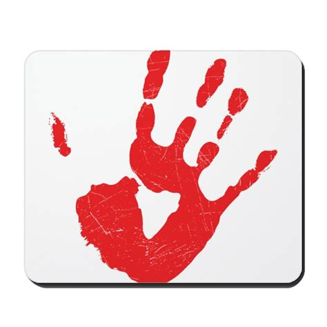 Mouse Pad Bloody bloody print mousepad by awesomegiftideas