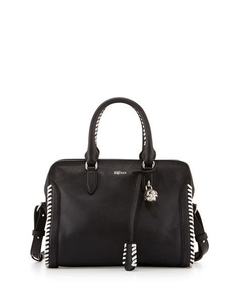 No Ring Mccarthy And Paddington Padlock Satchel Handbag by Lyst Mcqueen Small Whipstitch Padlock Satchel
