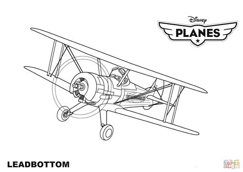 planes coloring pages disney planes leadbottom coloring page free printable