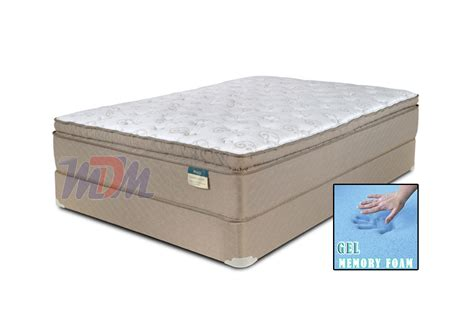 What Is Top Mattress by Dorchester Gel Infused Pillow Top A Pocket Coil Mattress