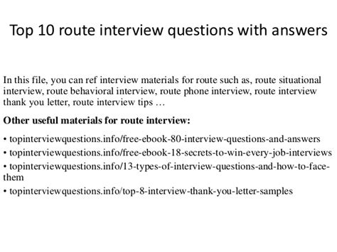 bliss home and design interview questions best free top 10 route interview questions with answers