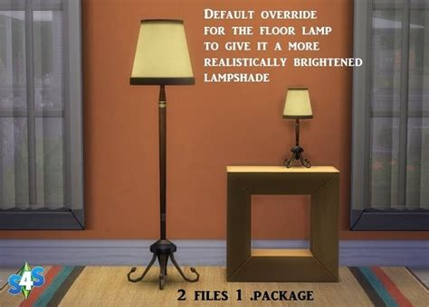 floor  table lamp  sims  studio sims  updates