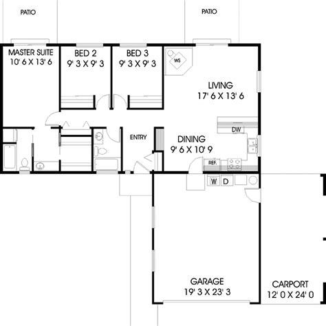 wexford hill ranch home plan 085d 0627 house plans and more