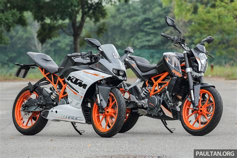 Ktm Duke Bike Review 2016 Ktm Duke 250 And Rc250 Handling And