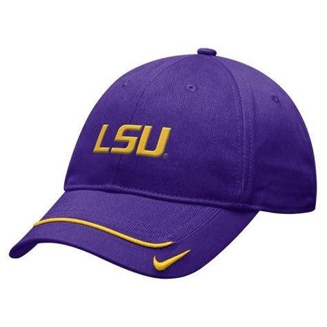 lsu tigers purple nike cap or hat new caps hats jerseys