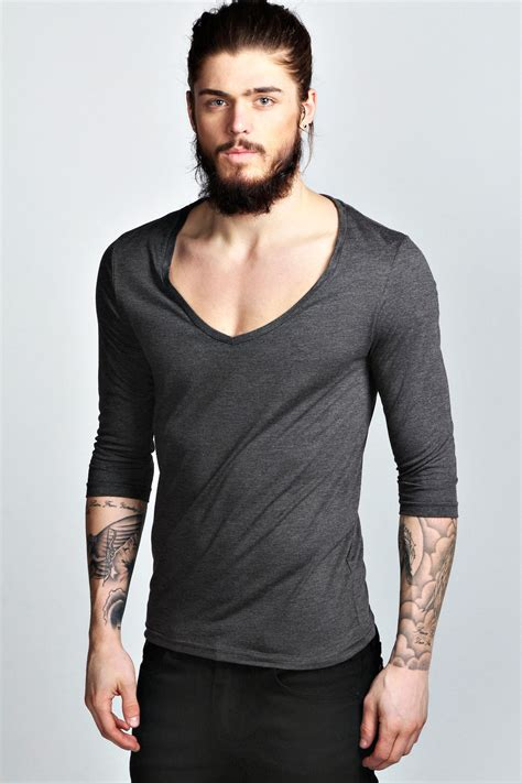 V Neck 3 4 Sleeve T Shirt basic 3 4 sleeve v neck t shirt buy v neck