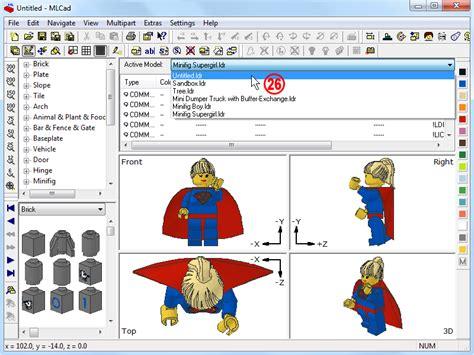 lego mlcad tutorial holly wood it gt mlcad gt tutorial advanced digital