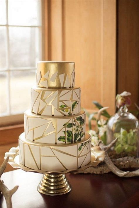 chic geometric wedding ideas   trends page