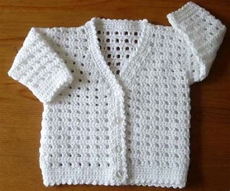 babies cardigan no 185 pattern by jones baby gifts