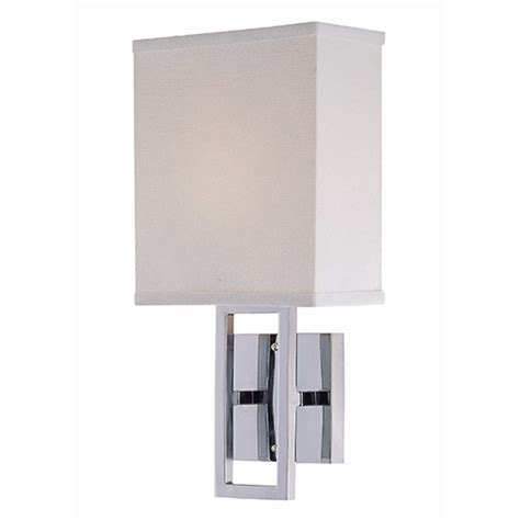 Chrome Wall Sconce Prisca Chrome One Light Wall Sconce Lite Source 1 Light