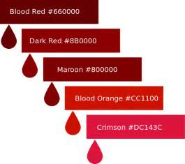 bloods colors file blood color palette svg