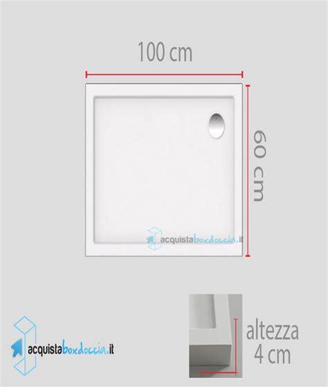 piatti doccia 60x100 vendita piatto doccia 60x100 cm altezza 4 cm