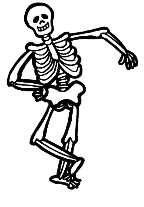 coloring pictures of bones 10 scary skeleton coloring pages for in